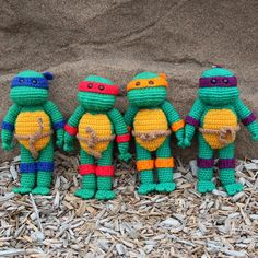 wecrochetit:  Teenage Mutant Ninja Turtle ❥ 4U // FREE PATTERN HERE