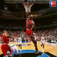 The GOAT in action during the 96 Eastern Conference Finals in Orlando.