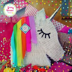 Multicolor 🎉criniere and silver horn made from recycled cardboard. 🎉Hauteur 19 inches Guaranteed 🎉Plaisir 😊 🎉N' feel free to contact me for any questions Recycling, This Or That Questions, Free, Boutique Etsy, Unicorn Head, Birthdays, Repurpose, Upcycle