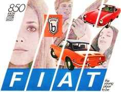 Papa was a mechanic at a Fiat Dealership in the 1970's  BROCHURE Fiat 850 SPIDER COUPE, 1970