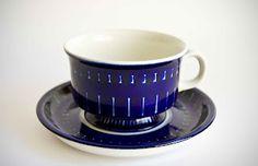 Retro Pottery Net: Arabia Blues