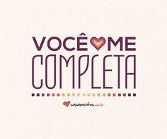 Compartilhe frases cheias de carinho com o amor da sua vida! Descubra mais em www.casamentos.com.br