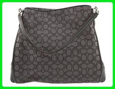 Coach Signature Phoebe Tote Carryall Handbag Shoulder Bag Smoke / Black F36424 - Shoulder bags (*Amazon Partner-Link)