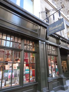 One of my favorite places to escape the tourist madness of central London is Hatchards Bookshop. The third floor, with its comfy sofas, is a great spot to spend a rainy afternoon. The popularLondonistblog recently profiled the city's oldest bookshop … Continue reading →