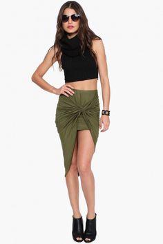 Nauty Maxi Skirt in Burgundy | Necessary Clothing