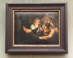 travels-ofadreamer:Parable of the rich fool, Rembrandt