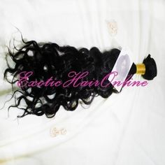 Exotichair New Pretty Style Natural Wave Indian Sew In Hair Extensions(5A)