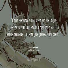 Armin & Eren;Shingeki no Kyojin || Frases Wattpad ♥