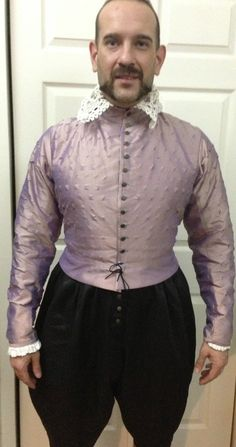 Silk Pinked doublet by GnagyArts on Etsy