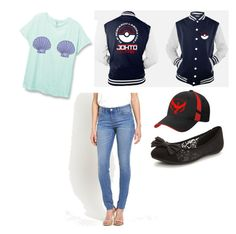 """Pokemon go outfit"" by hannyabie ❤ liked on Polyvore featuring Valor"