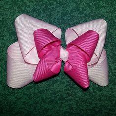 #HairBow #PinkOnPink