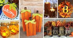 Autumn is here, and it's time for fun DIY fall craft ideas! For many, there's no more lovely time of year than fall. See the best decorations and pick your favorite!