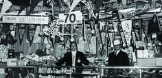 """Brothers Arthur & Henry D'Angelo, Italian immigrants, opened Twins Enterprises across from Fenway Park in 1947. Generations of Red Sox fans have bought caps, jerseys and souvenirs here. Henry died in 1987. The company re-branded itself as '47 in 2010. At age 91 as of 2017, Arthur and his 4 sons run the show, and have added a new shop ion Newbury Street. In 2013, a street near Fenway Park was renamed """"Arthur's Way"""" after the family raised over $1.4 million for Boston Marathon bombing victims."""