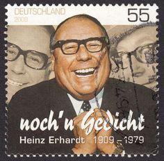 Heinz Erhardt war der große Humorist der Nachkriegszeit. Und auch heute noch lernen Kinder in der Schule seine bekannten Gedichte. Wir stellen die schönsten...