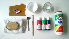 Tafelfarbe selbermachen DIY