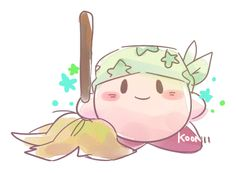 Kirby in Cleaner Colthes (Kirby Switch)