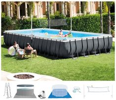 With Hydro Aeration there is an average. With Hydro Aeration there is an. Includes pool ladder, ground cloth and. Pool with Sand Filter Pump. Ground Pool with Sand Filter Pump Rectangular Above Ground. Rectangle Above Ground Pool, Best Above Ground Pool, Rectangle Pool, Above Ground Swimming Pools, In Ground Pools, Intex Above Ground Pools, Pool Sand, My Pool, Oberirdische Pools