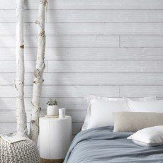 lambris epica bross gris l237 x l135 cm ep - Chambre Lambris Blanc