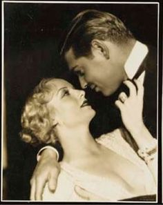 Lombard and Gable first met in 1932 while making the picture No Man of Her Own. Both were married. Gable's wife was a well-to-do Texas widow ten yearrs his senior who he had married the year before after divorcing a drama coach. Lombard was married to William Powell. They showed no interest in each other at the time.