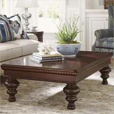 Shop for the Tommy Bahama Home Kilimanjaro Kirkwood Rectangular Cocktail Table at Belfort Furniture - Your Washington DC, Northern Virginia, Maryland and Fairfax VA Furniture & Mattress Store Home Decor Furniture, Luxury Furniture, Living Room Furniture, Furniture Design, Center Table Living Room, Table Decor Living Room, Decorating Coffee Tables, Coffee Table Design, Wooden Sofa Designs