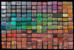 Colorful Garage Doors Photography –  Agne Gintalaite (Beauty Remains)