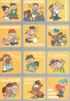 Ik kan ... Feelings Preschool, Preschool Activities, Learn Dutch, Coaching, Dutch Language, Leader In Me, Kids Behavior, Teaching History, School Lessons