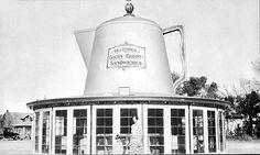 The Coffee Pot: 1931, Phoenix, Arizona (located at 7th and McDowell Road)