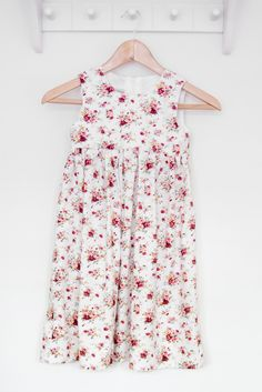 A personal favourite from my Etsy shop https://www.etsy.com/uk/listing/237773476/little-girls-floral-maxi-dress-age-3-4