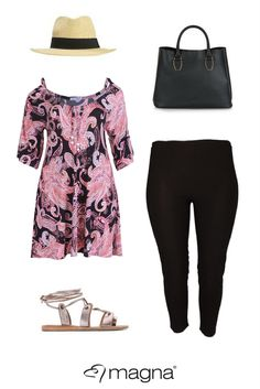 How to wear a summer look #plussize #fashion