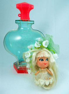 Lily of the valley kiddle - I still have mine from the 1960s.