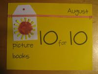 Reflect & Refine: Building a Learning Community: It's Almost Time for Our Annual Picture Book Event: Picture Book 10 for 10