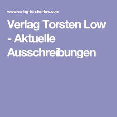 Verlag Torsten Low - Aktuelle Ausschreibungen