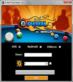 8 Ball Pool Hack Cheats Tips - how to get Unlimited Coins 8 Pool Coins, Ios Operating System, Cheat Engine, Pool Hacks, Pool Images, Pool Cues, Free Games, Cheating, The Help