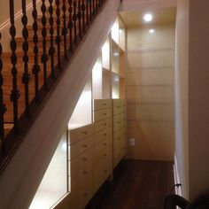 Cabinets Under Stairs