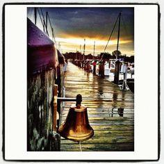Docks along South Haven's Black River captured by Instagram friend @Linda Holmes! #PureMichigan #SouthHaven