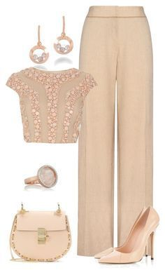 """""""Sin título #1194"""" by marisol-menahem ❤ liked on Polyvore featuring Chopard… #dressescasual"""