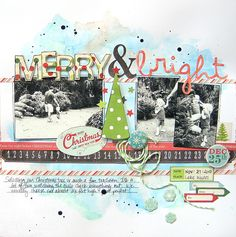 Merry & Bright *My Creative Scrapbook* - Scrapbook.com