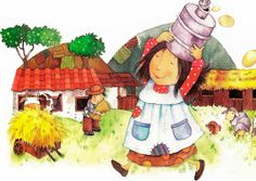 Poesia Infantil i Juvenil: El cuento de la lechera: soñar o no soñar?