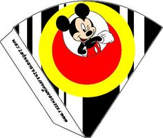 Inspired in Mickey Mouse: Free Party Printables in Red and Black. Right click and save as Mickey Mouse E Amigos, Fiesta Mickey Mouse, Mickey Mouse And Friends, Mickey Minnie Mouse, Mickey Party, Mickey Mouse Birthday, Imprimibles Mickey Mouse, Scrapbook Da Disney, Mickey Mouse Headband