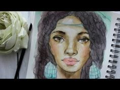 Watercolor Process Time lapse - 4 Ways to Improve Watercolor Paintings