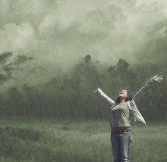 tombe la pluie