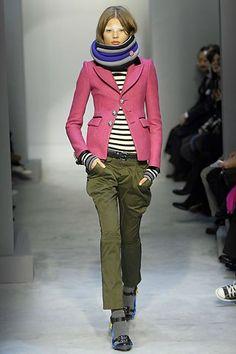 Balenciaga Fall 2007 Ready-to-Wear Fashion Show - Magdalena Frackowiak