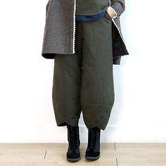 6302 文艺范宽松九分灯笼裤【4色】