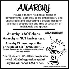 Anarchy is not chaos. Anarchy is not lawlessness. Anarchy is based upon the principle of self-ownership. Free Association, Mind Unleashed, Anarchism, Thought Provoking, Youtube, Self, Thoughts, Sayings, Words