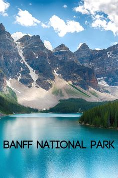 """Come explore Canada's oldest national park!"""