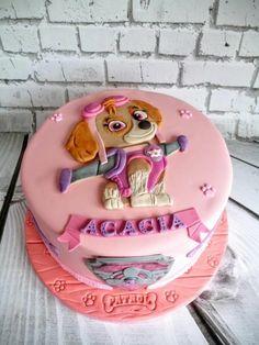 Skye paw patrol - Cake by Hilz Cupcakes Paw Patrol, Paw Patrol Sky Cake, Girls Paw Patrol Cake, Paw Patrol Torte, Paw Patrol Birthday Cake, 3rd Birthday Cakes, Birthday Ideas, Cake Disney, Festa Moana Baby