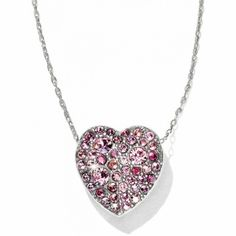 available at #BrightonCollectibles~Anatolia Heart Necklace 2/2017