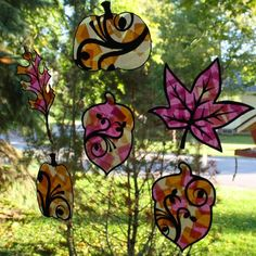Tissue Paper Stained Glass