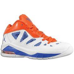 5e003fe82b28c2 ... Jordan Melo M8 Advance - Boys Grade School - White Game Royal Team  Orange ...
