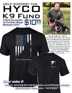 Hyco Fundraiser T Shirt | underthecarolinamoon.com
